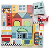 Le Toy Van Timber Town Blocks One Size