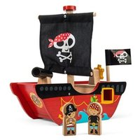 Le Toy Van Little Captain and Pirate Boat One Size