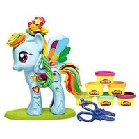 PlayDoh My Little Pony Rainbow Dash Style Salon 3  10 years