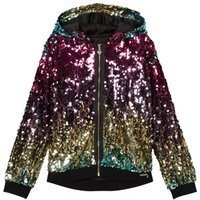 Guess Multi Sequin Hooded Jumper 12 years