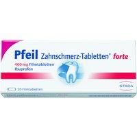 Pfeil Zahnschmerz-Tabletten forte 400mg