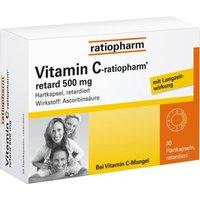 VITAMIN C ratiopharm retard 500 mg Kapseln