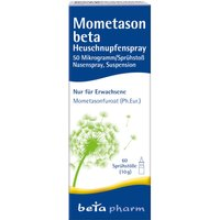 Mometason beta Heuschnupfenspray 50µg