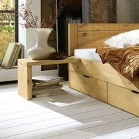 Nachttisch für Kiefer Schubkastenbett