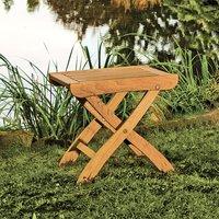 Gartenhocker aus umweltfreundlichen Holz*