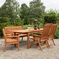 Ökologisches Robinienholz Gartenmöbel-Set Celano*