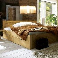 Bett mit Schubkasten – Nachhaltiges Kieferholz*