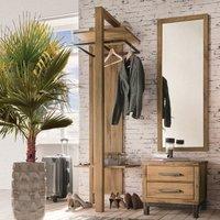 Garderobe Flurmöbel aus Wildeichenholz*