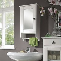 Badezimmer Spiegelschrank - Zertifiziertes Kiefernholz*
