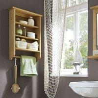 Badezimmer Wandregal - Kiefernholz auf schoene-moebel-kaufen.de ansehen