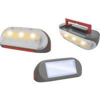 Solarlampe mit Tragegriff, LED-Leuchte