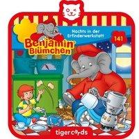 tigercard - Benjamin Blümchen - Nachts in der Erfinderwerkstatt, Hörbuch