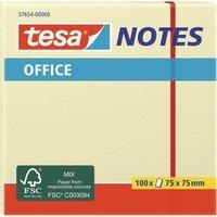 Office Notes 100 Blatt, gelb, Aufkleber