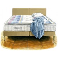 J. marshall no. 3 mattress and divan - single 90 x 190cm - 3ft