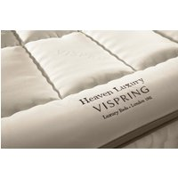 Vispring heaven luxury mattress topper - single 90 x 190cm - 3ft
