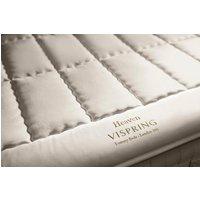Vispring heaven mattress topper - single 90 x 190cm - 3ft