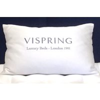 Vispring Pyrenean Duck Feather and Down Pillow - Large 50x90cm