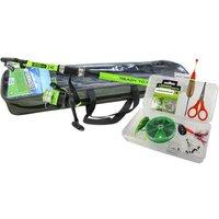 JENZI Tele Ruten Combo Green Concept Ready to fish inklusive Rutentasche