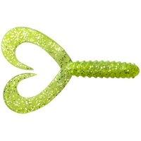 JENZI Doppelschwanz-Twister grün-gl.