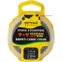 Spro 7X7 Brown Soft Wire 10M 13Lb