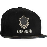 Prologic Bank Bound Flat Bill Cap Black/Camo