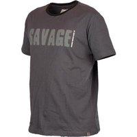 Savage Gear Simply Savage Tee Light Grey Melangé XXL