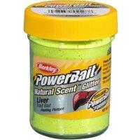Berkley Powerbait Dough Natural Scent Liver - Fluo Green Yellow