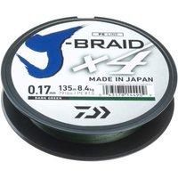 Daiwa J-Braid X4E 0.10mm-270m d.-gr.