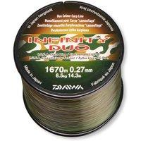 Daiwa Infinity Line Duo Camo braun/grün 0.36mm 10.7kg 840m
