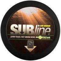 Korda Subline Brown 20lb/0.43mm 1000m