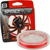Spiderwire Stealth Smooth 8 Red 300M 20Lb/0,17Mm