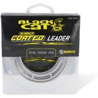 Black Cat Rubber coated Leader 100 kg