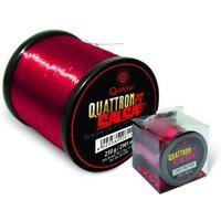 Quantum 0,25mm Quattron Salsa 3000m 5,70kg transparent rot
