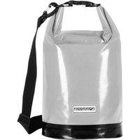Wasserdichter Seesack Packsack 10 Liter - grau - 10 Liter   Grau