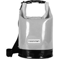 Wasserdichter Seesack Packsack 5 Liter - grau - 5 Liter   Grau