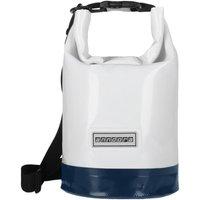Wasserdichter Seesack Packsack 5 Liter - maritim - 5 Liter   Weiß