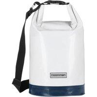 Wasserdichter Seesack Packsack 10 Liter - maritim - 10 Liter   Weiß