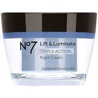 No7 Lift&Luminate Triple Action Nightcream Parf 50ml