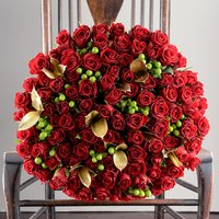 100 Christmas Roses