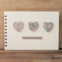 Small Hearts Wedding Book