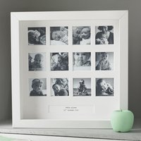 Personalised My First Year Frame