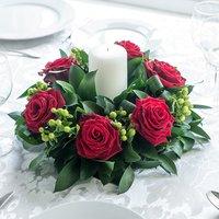 Grand Prix Rose Table Centre