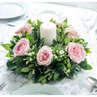 Sweet Avalanche Rose Table Centre