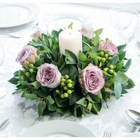 Memory Lane Rose Table Centre