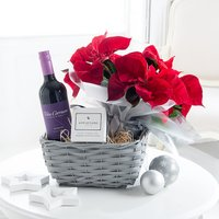Christmas Poinsettia Hamper