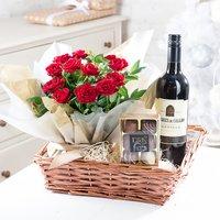 Christmas Red Wine Hamper