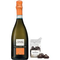 Dal Bello Prosecco and Hotel Chocolat Gift Set