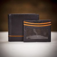 Dents Credit Card Holder Gift Set (Orange/Chocolate)