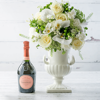 Elegant Orchid & Laurent-Perrier Rosé Champagne