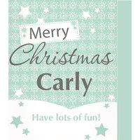 Personalised Snowflake Card